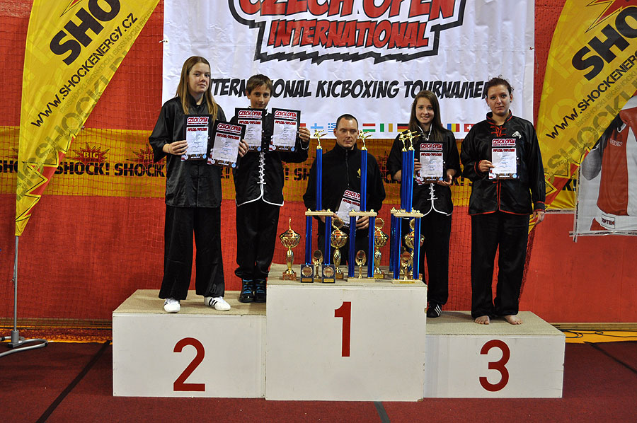 Turnaj v Kung Fu formách - Czech Open 2012