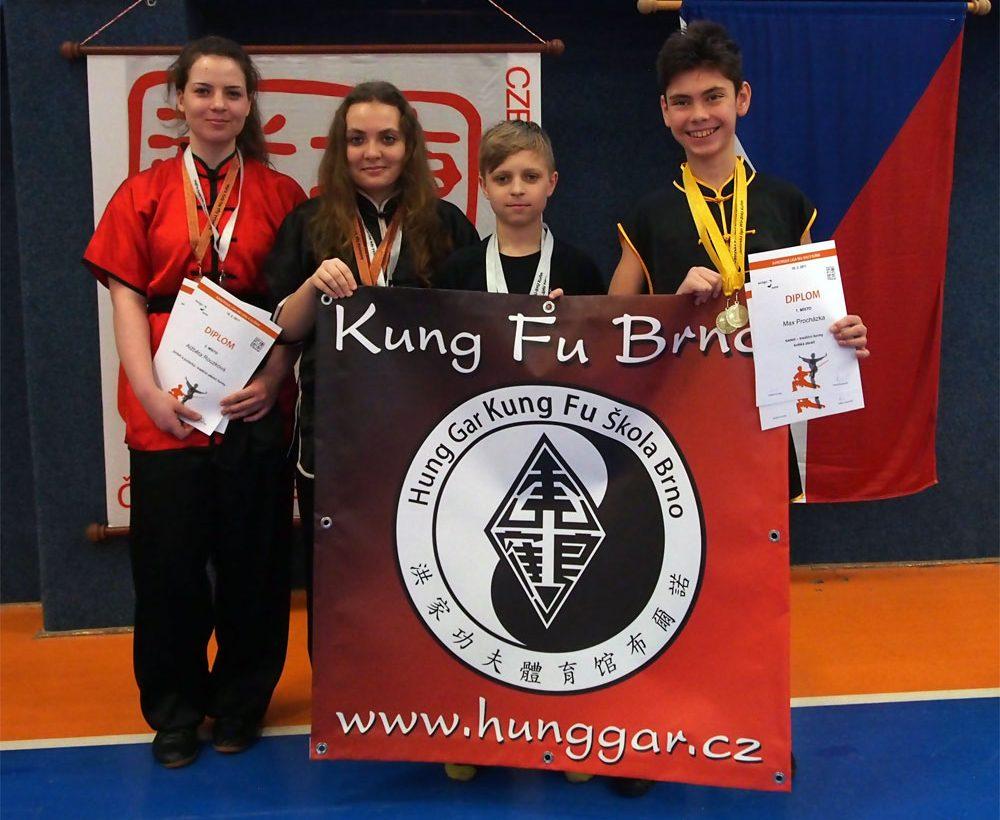 Juniorská liga Kung Fu Kuřim