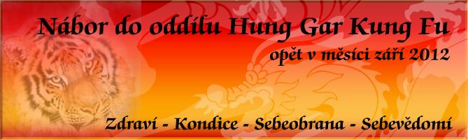Nábor do oddílu Kung Fu
