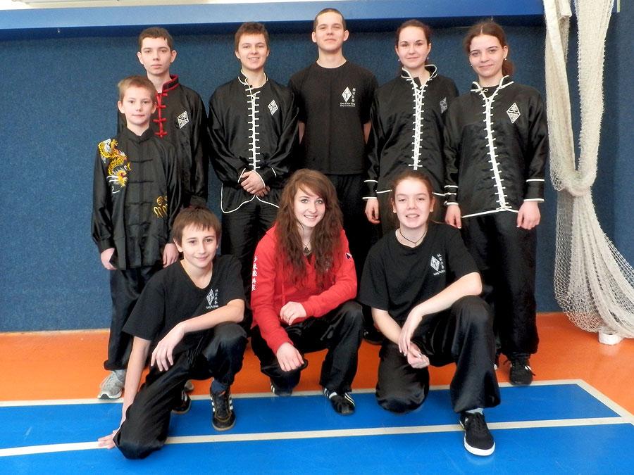 Juniorská liga Kung Fu - Kuřim 2013