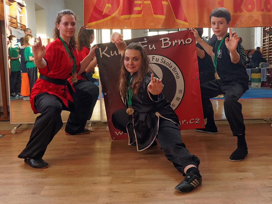 Juniorská liga Kung Fu Stará Turá 2017