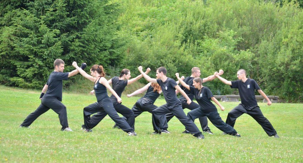 Letní škola Kung-fu 2015