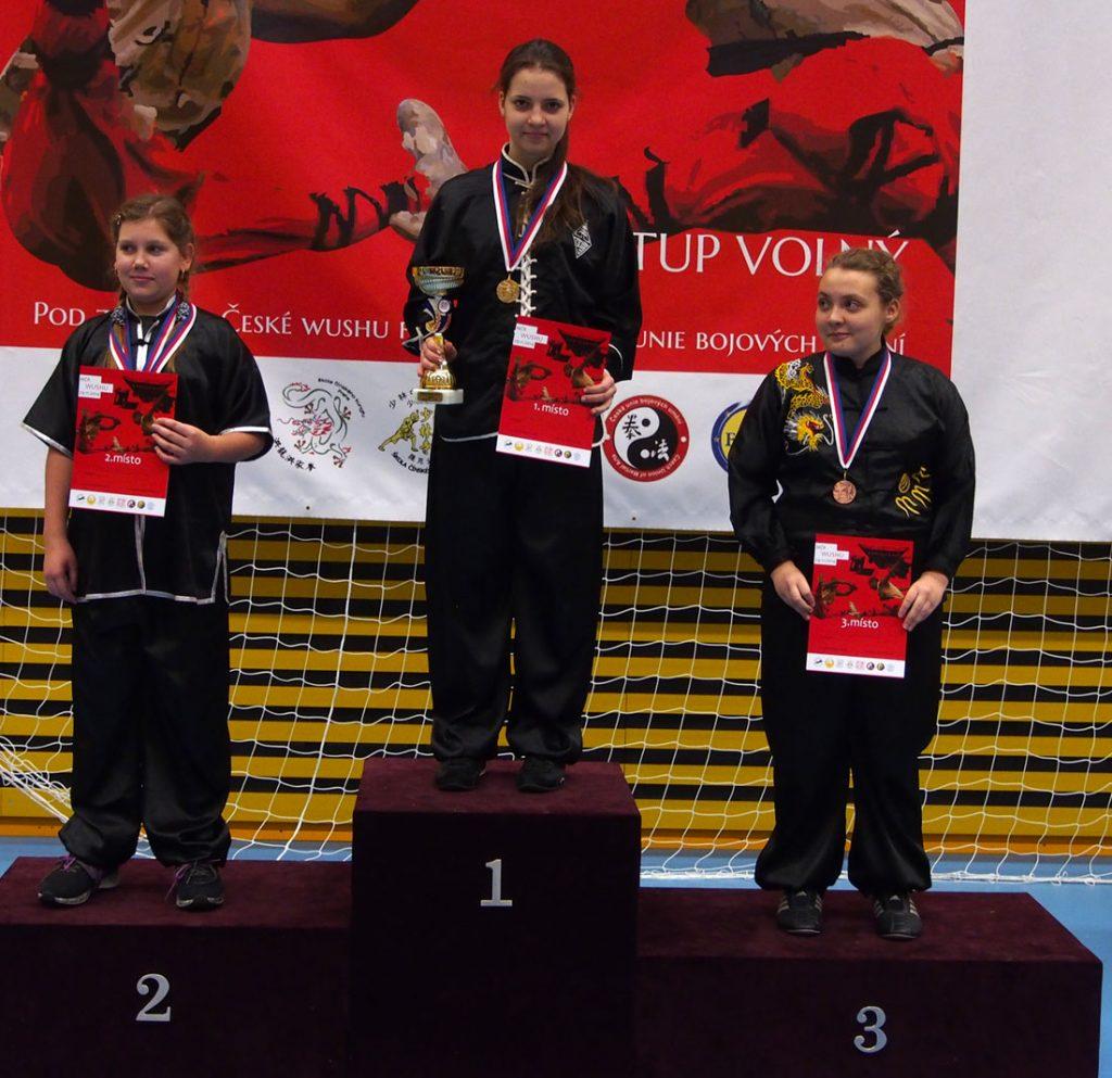 Naši účastníci na Mistrovství ČR v Kung Fu