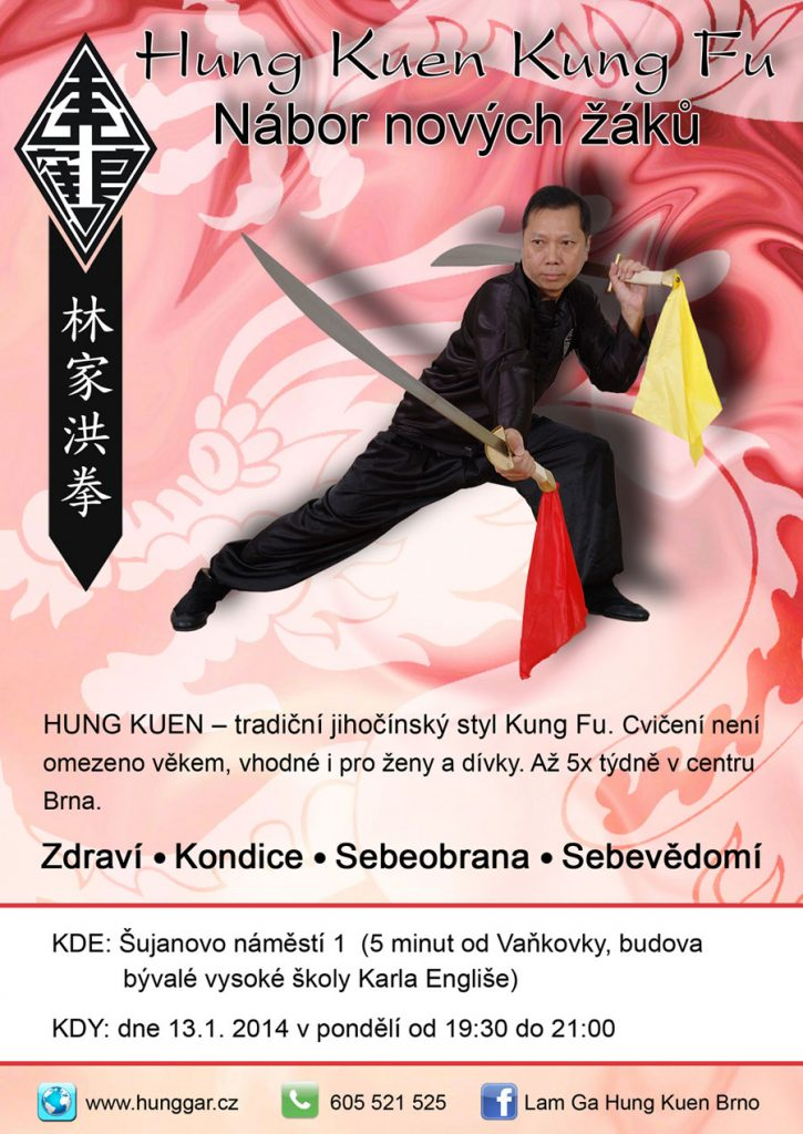 nábor kung fu leden