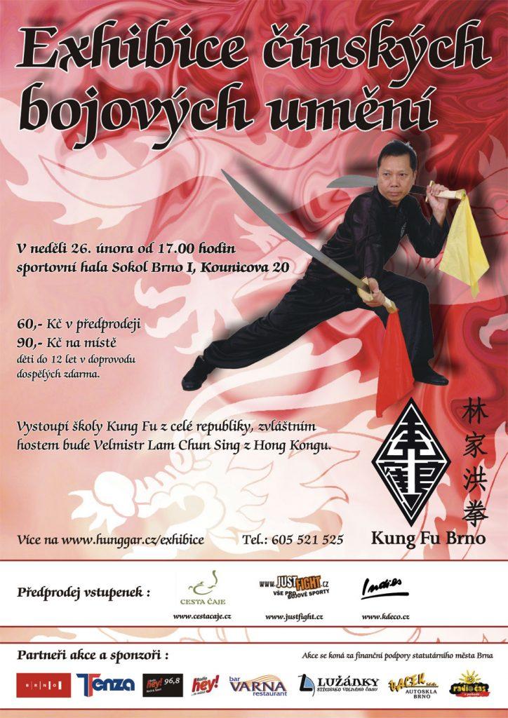 Exhibice Kung Fu - 26. února 2012