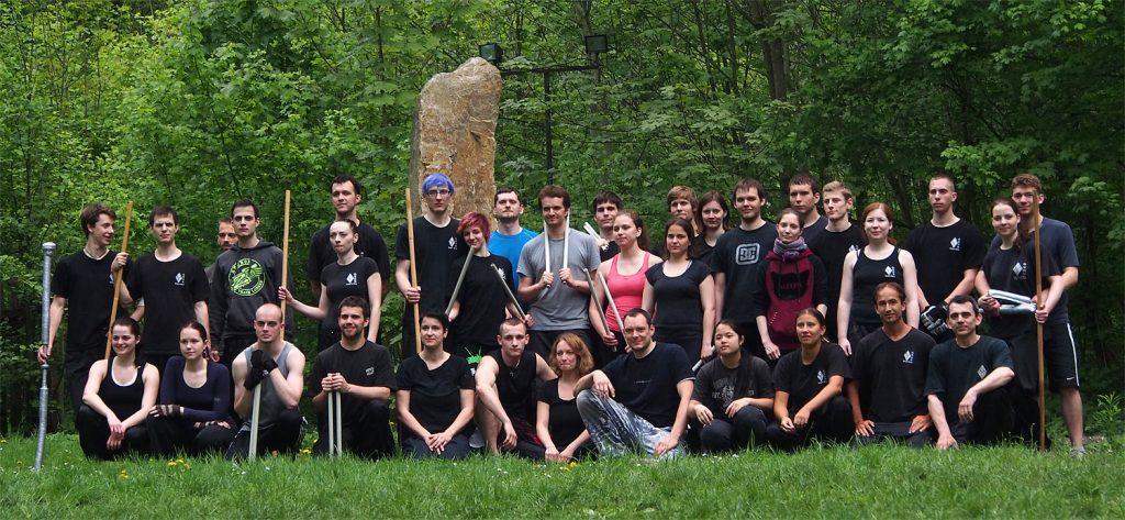 Soustřední Hung Gar Kung Fu školy Brno v Moravském Krasu