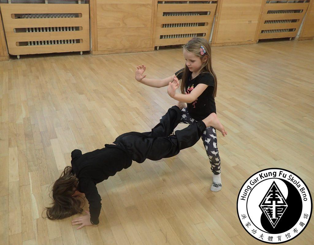 přerušení tréninků kung-fu brno