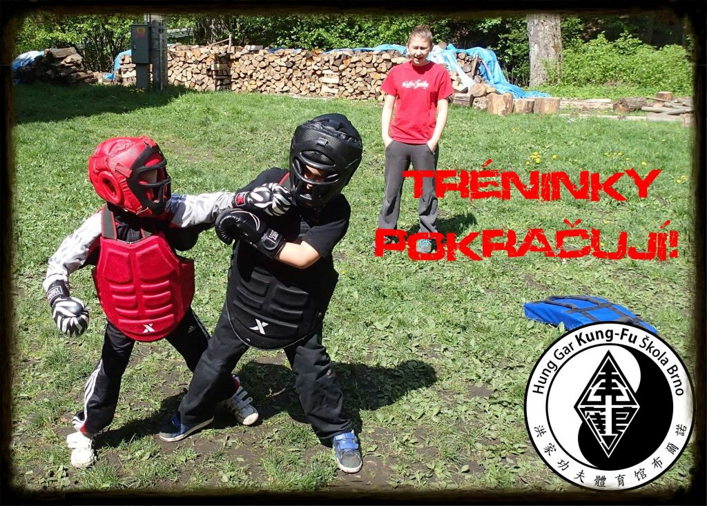 Trénink kung-fu výjimečný stav