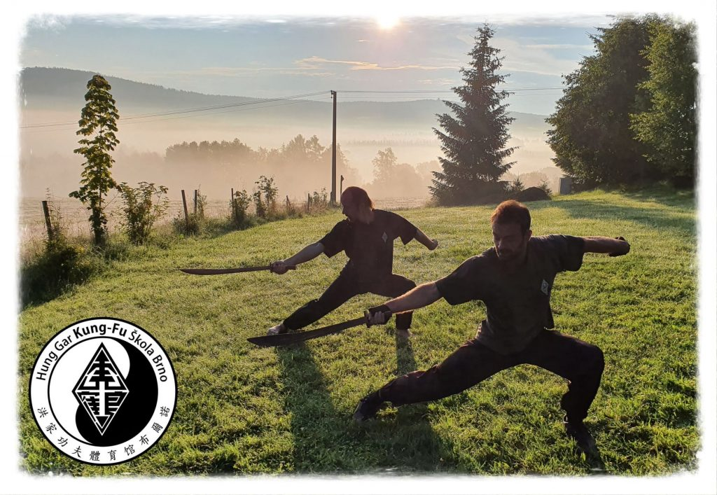Kungfu Trénink přes léto